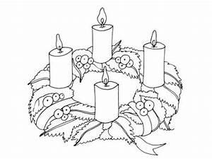 Bougie De Noel Dessin : les 4 bougies de noel secte ~ Voncanada.com Idées de Décoration