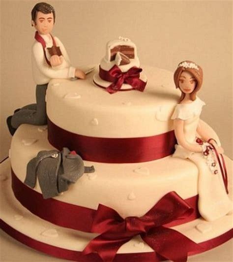 funny wedding cakes   cake