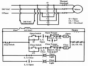 Dc Motor Operated Valve Diagram
