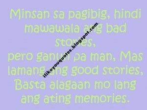 Tagalog Quotes For Ex Boyfriend. QuotesGram