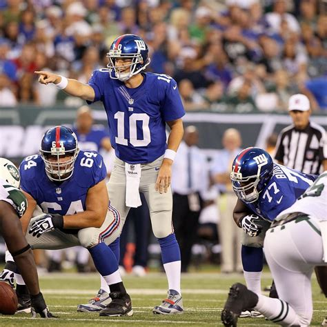 Jets vs. Giants: Full New York Giants Preview | Bleacher ...