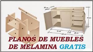Planos Para Hacer Muebles De Melamina  Y Mdf Gratis
