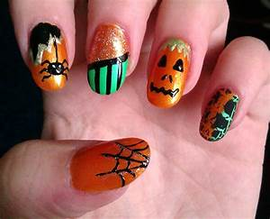 Cute nail ideas for halloween - how you can do it at home ...