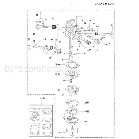 Husqvarna 135 Chainsaw (2011) Parts Diagram, Carburetor