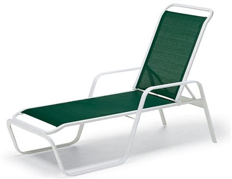 pool furniture supply chaise lounge fabric sling aluminum