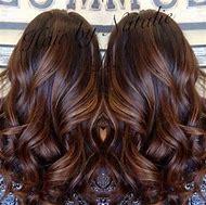 Long Brown Hair with Caramel Balayage Highli…
