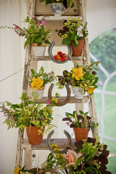 Outdoor Flower Decorations by 30 Most Amazing Vintage Garden Decorations