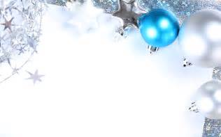 blue and silver balls merry christmas wallpaper hd wallpapers