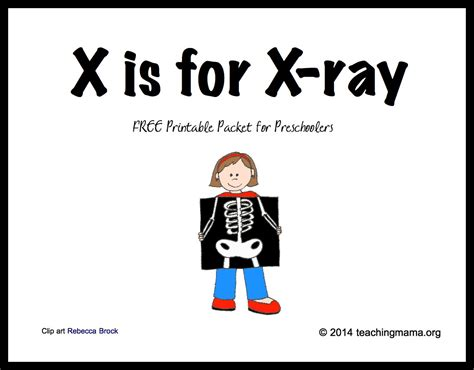 x is for x letter x printables 651 | XisforXray