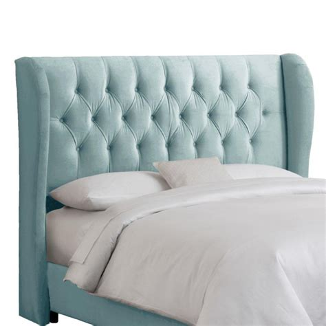 upholstered king headboard in velvet black 403nb pwvlvblc