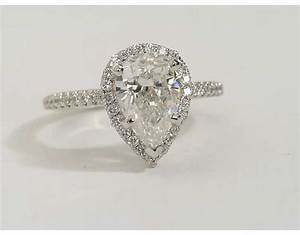 pear shaped engagement rings wedding and bridal inspiration With pear shaped wedding ring