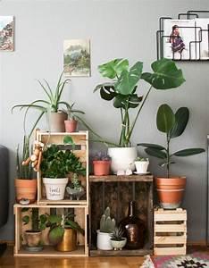 Cagette Bois Deco : 20 id es d co avec des cagettes en bois elle d coration ~ Teatrodelosmanantiales.com Idées de Décoration