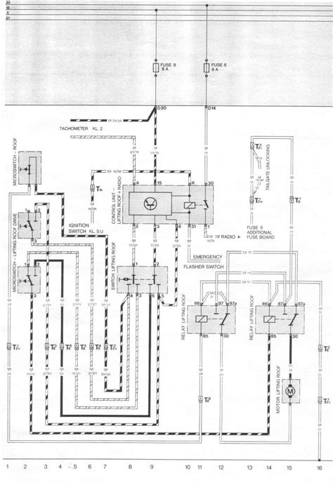 Porsche 944 Wiper Motor Wiring Diagram by Pelican Parts Porsche 924 944 Electrical Diagrams