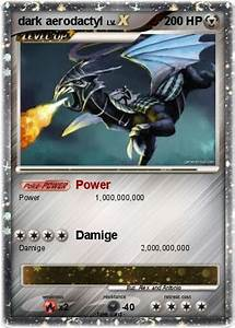 Pokémon dark aerodactyl 4 4 - Power - My Pokemon Card