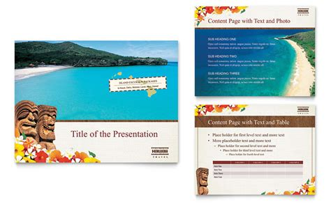 hawaii travel vacation powerpoint