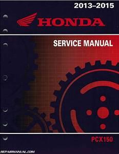 2013  U2013 2015 Honda Pcx150 Scooter Service Manual By