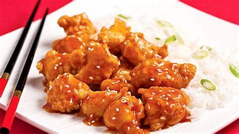 repas sans cuisiner poulet général tao