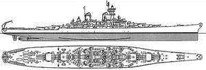 Navy Ship  Baltimore Class Heavy Cruiser Diagram Plan