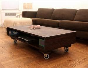 modern interior design with coffee tables on wheels With modern coffee table with wheels
