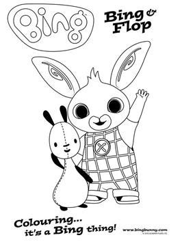 Kids-n-fun.com | 42 coloring pages of Bing Bunny