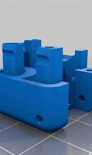 Download free STL file Fidget cube with inside gear ...