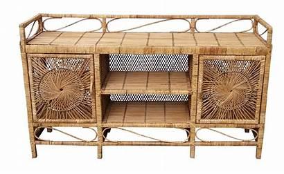 Chairish Wicker Furniture Sideboard