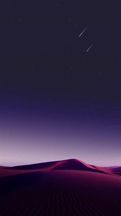 Iphone Stars Night Sky Desert Nature Wallpapers