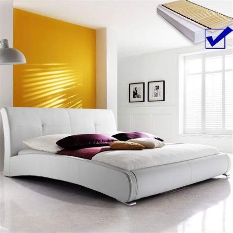 Polsterbett Komplett Amadeo Bett 140x200 Cm Weiß