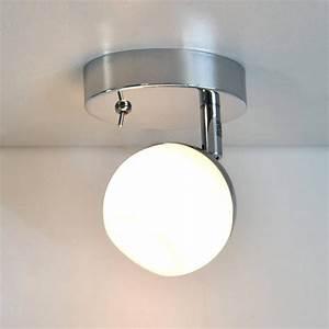 Deckenlampe Mit Schalter : led wandleuchte prisma leuchten 55156962 mit 5w g9 led ~ Frokenaadalensverden.com Haus und Dekorationen
