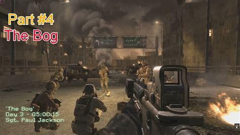 Call Of Duty 4 Modern Warfare Walkthrough Part 4 The Bog