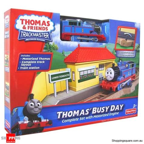 fisher price thomas friends trackmaster thomas busy day