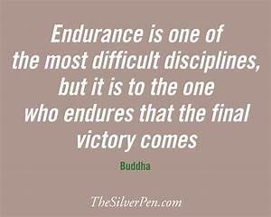 Endurance as Di... Endurance Quotes