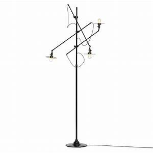 adjustable three arm oc white floor lamp customized by With ore 3 light adjustable floor lamp white