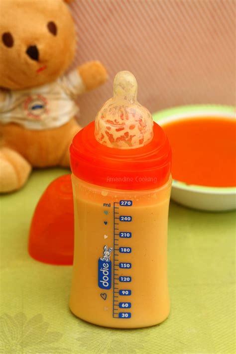 ma cuisine indienne soupe pour bébé carotte ananas et curcuma amandine