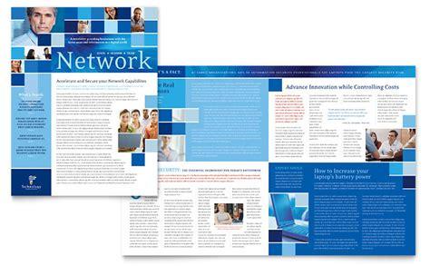 microsoft publisher newsletter templates technology consulting it newsletter template word publisher