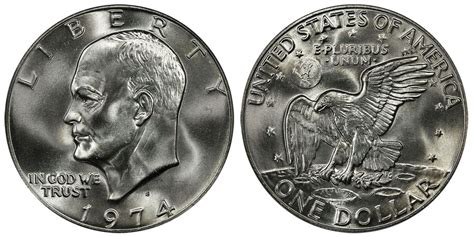 eisenhower dollars price charts coin values