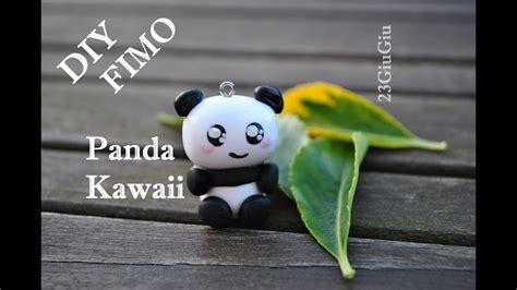 tuto fimo le panda kawaii youtube