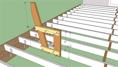 Building A Deck Bench by Deck Bench Plans Free Howtospecialist How To Build