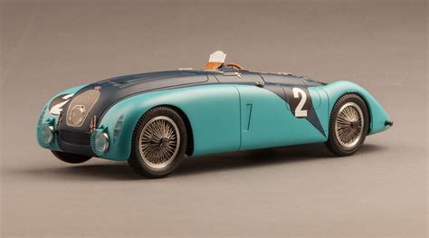 1937 Bugatti Type 57g Le Mans Winning Tank Car Dx