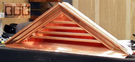 Cbd's Custom Copper Roof Flashing & Vents Page