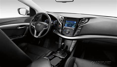 Hyundai i40: On sale UK in June & first i40 interior photo