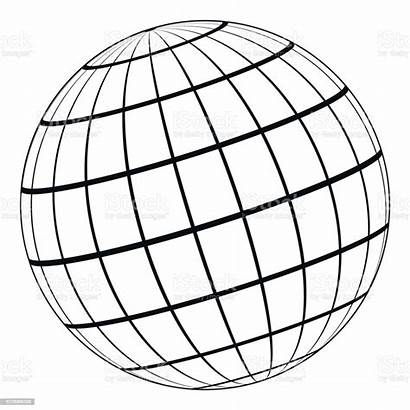 Globe Earth Sphere 3d Vector Planet Celestial