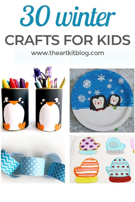 30 Winter Crafts for Kids - The Art Kit