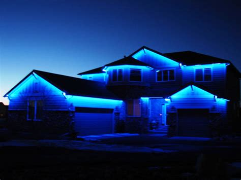 exterior led lights for homes ideas for installation of outdoor led lights home