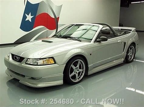 buy car manuals 2000 ford mustang engine control buy used 2000 ford mustang gt convertible jack roush edition 25k texas direct auto in stafford