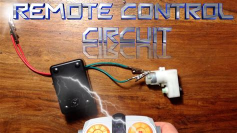 How Make Remote Control Circuit Youtube
