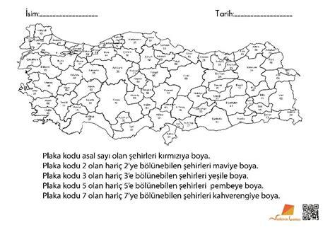 Türkiye Haritası Boyama Resimlere Göre Ara Red