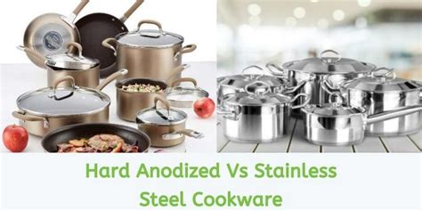 hard anodized  stainless steel cookware