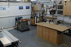 Phil converted a two-stall garage into his shop His tour