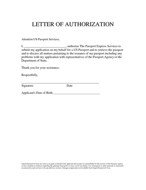 bank account authorization letter sample format  cheque